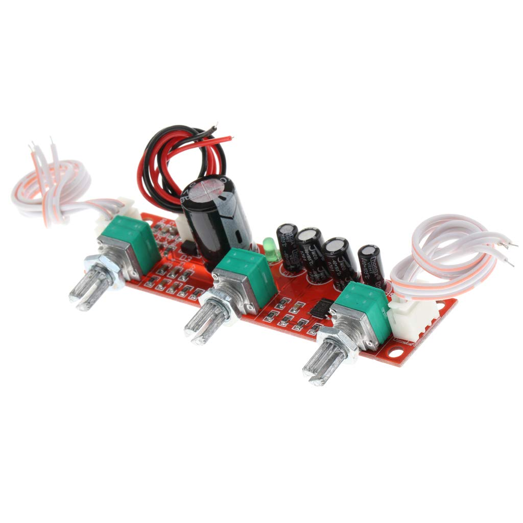 H HILABEE NE5532 HiFi Junta de Preamplificador Kit de Placa M/ódulo Volumen Ajustable