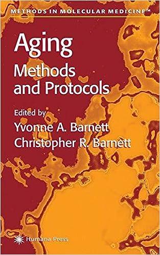 Book Aging Methods and Protocols (Methods in Molecular Medicine)