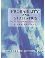Probability and Statistics for Engineers and Scientists (6th Edition)