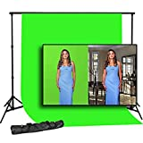 Compact Travel Support System plus 6ft x 9ft Chromakey Green Backdrop, Steve Kaeser Photographic Lighting & Accessories