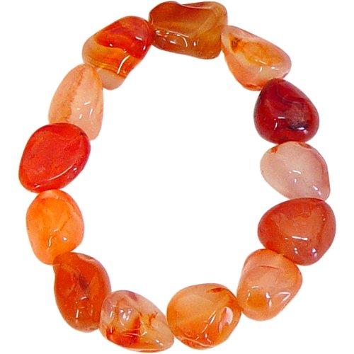 - Tumbled Stones Bracelet Carnelian