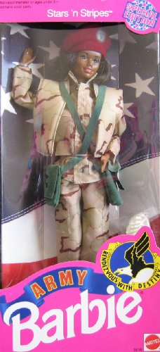 Stars N Stripes Army Barbie African (Barbie Stars N Stripes)