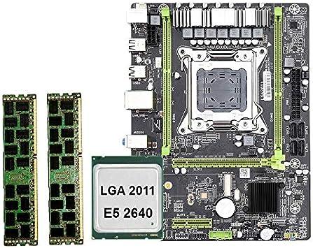 REFURBISHHOUSE X79 M2 LGA2011 Conjunto de Placa Base Combinado con ...