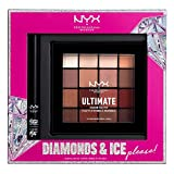 NYX PROFESSIONAL MAKEUP Diamonds & Ice Shadow And Liner Set - Matte Liquid Eyeliner + Ultimate Shadow Palette - Warm Neutrals