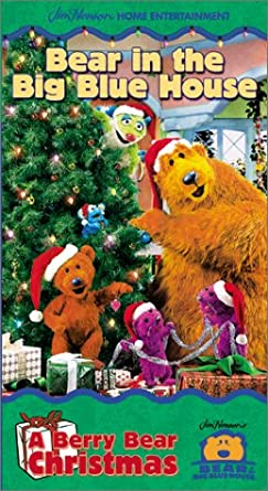 bear in the big blue house a berry bear christmas vhs - Bear Inthe Big Blue House Christmas