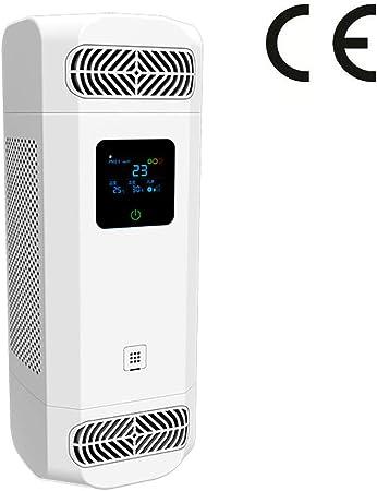 SOLUCKY Purificador de Aire de Escritorio, Polvo de Humo de deshidratación de Humo de Iones Negativos PM2.5 para la Oficina de Barra de oxígeno en el hogar: Amazon.es: Hogar