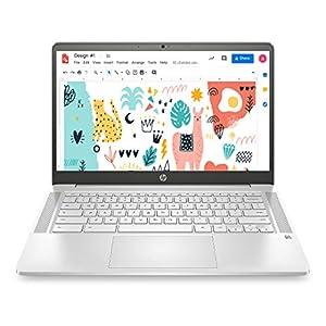 HP Chromebook 14a-na0003TU 14-inch Thin & Light Touchscreen Laptop (Intel N4020/4GB/64GB SSD + 256GB Expandable/Chrome…