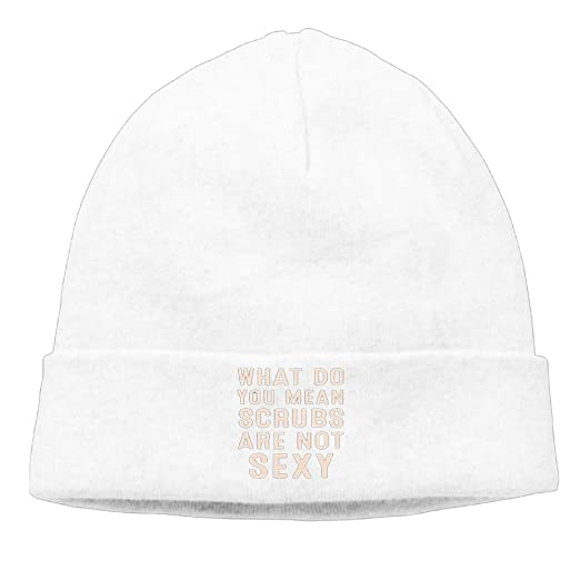 Amazon.com  What Do You Mean Scrubs are Not Sexy 1Knitted Cap Trendy ... 6f121553b18