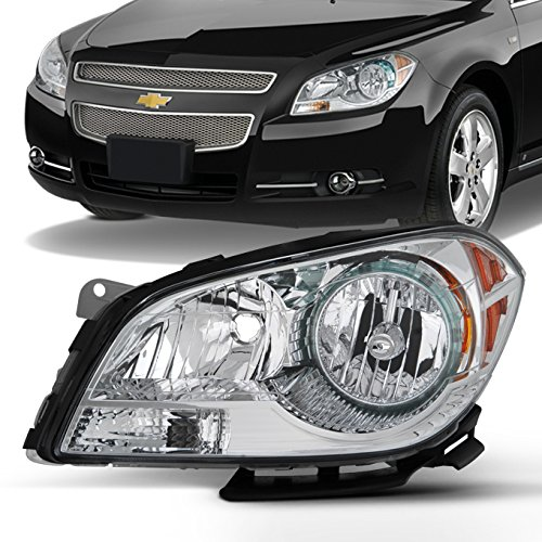 2008 2009 2011 2012 Chevy Malibu Driver Left Side Headlight Headlamp Replacement Assembly 08-12