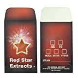 1000 Red Stars Extracts Full Color Wax Oil Coin Envelopes Shatter Labels #151