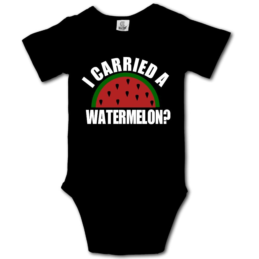 Haibaba I Carried A Watermelon Infant Climbing Short-Sleeve Jumpsuit