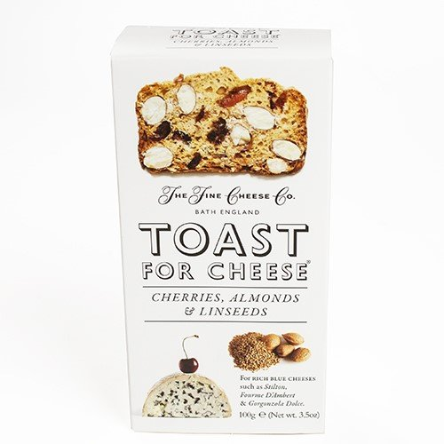 THE FINE CHEESE CO Cherry Almond Toast For Cheese, 100 GR