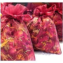 2 oz ROSE Buds & Petals - Wedding Toss, Potpourri, Sachet, Pillow, Bath Salts - By Oakland Gardens