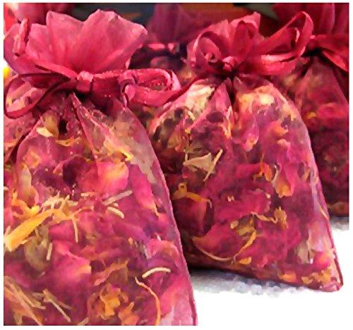 Toss Bath (ROSE Buds & Petals - Used In Wedding Toss, Potpourri, Sachet, Pillow, Bath Salts - By Oakland Gardens (04 oz - (approx 4 Cups)))