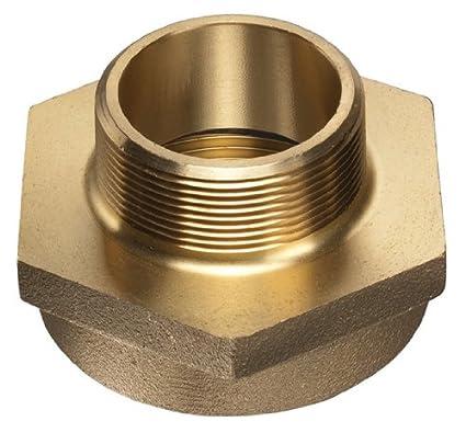 Kuriyama DMHN-16PT12GH Double Male Hex Nipple Brass 1 x 3//4
