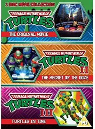 Teenage Mutant Ninja Turtles - The Movie Collection: 3DVD ...