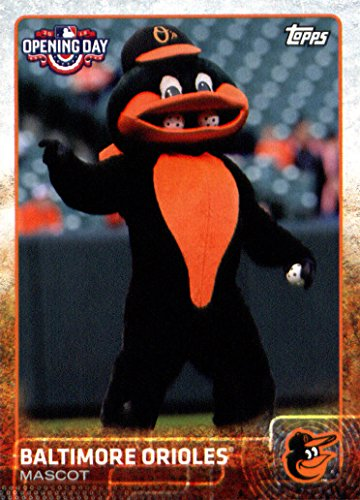 (2015 Topps Opening Day Baseball Card Mascots #M-03 Baltimore Orioles NM-MT)