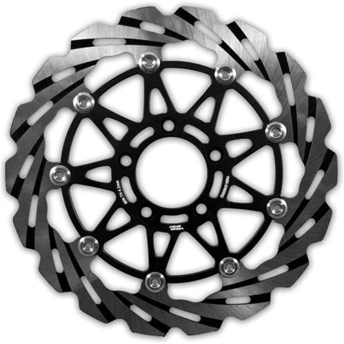 Yana Shiki SUZUKI: GSX-R 600 2006-2007 SUZUKI: GSX-R 750 2006-2007 SUZUKI: GSX-R 1000 2005-2008 SW926RD Silver FRONT ROTOR single