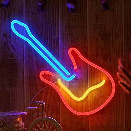 3D Neon Guitar Light