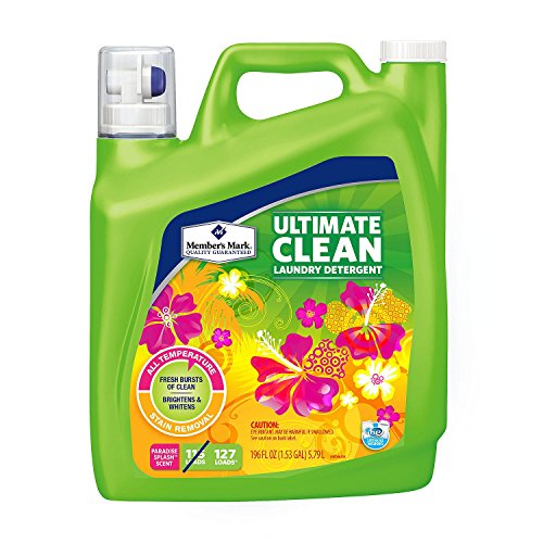 Member's Mark Ultimate Clean Laundry Detergent, Paradise Splash, 127 loads (Sams Club Members)