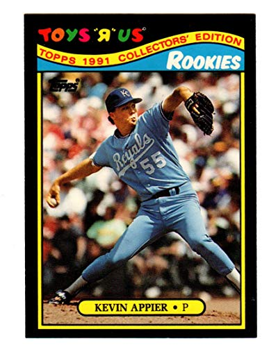 KEVIN APPIER KANSAS CITY ROYALS 1991 Toys 'R' Us Rookies #2 Topps