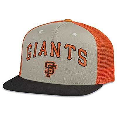 MLB American Needle Pastime Gatekeeper Cooperstown Mesh Back Adjustable Snapback Hat (San Francisco Giants)