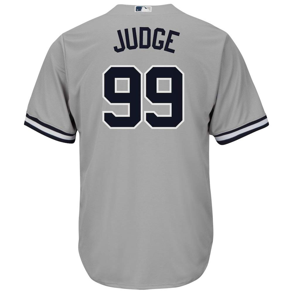 TKGFTU Men's/Women's/Youth_Aaron_Judge_Gray_Player_Jersey