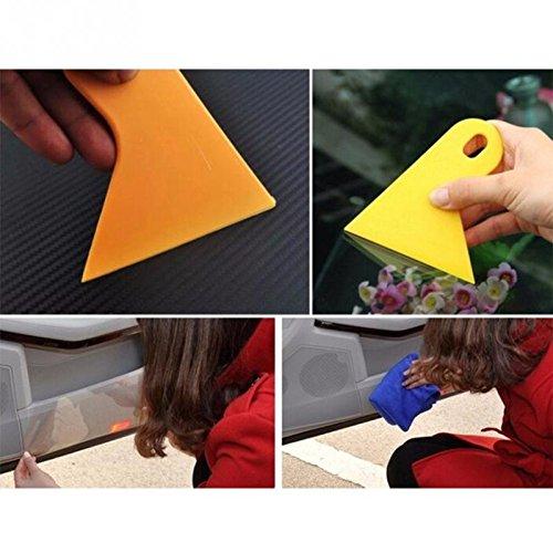 Labu Store 10cm x 3M Rhino Skin Sticker Car Bumper Hood Paint Protection Film PVC Vinyl Clear Transparence Film Car Auto Decal