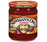 Newman's Own Mango Medium Salsa (Pack of 3) 16 oz Jars