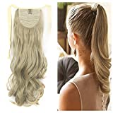 Ponytail Hair Extensions One Piece Tie Up Ponytail