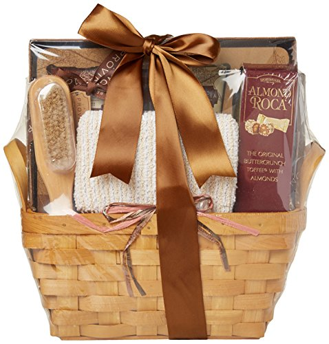 Gift Basket Village Tuscan Hills Spa Collection for Women, Honey Vanilla, 5 Pound (Send Spa)