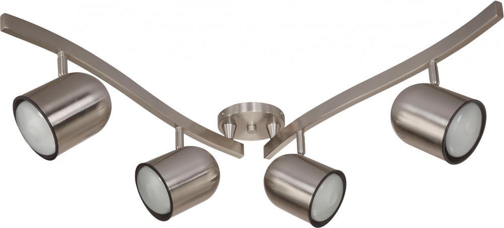 Nuvo Lighting TK382 R30 Gu24 Track Kit Brushed Nickel by Nuvo Lighting (Image #1)