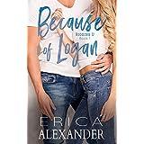 Because of Logan (Riggins U Book 1)