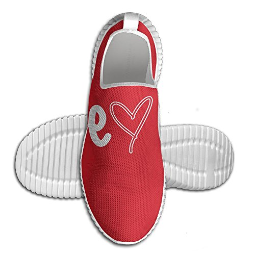 Love Is Love Tennis Running Shoes Art Unisex Wearable Tennis Loafers For Youth White MN6PdZQbh