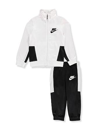 d532b7a2a26b Amazon.com  Boys Nike Jacket   Pants Track Suit Set Sweatsuit (7 ...