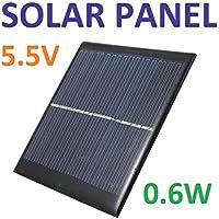 Robotekno 50L1 Solar Panel Güneş Paneli Batarya 5.5v 0.6w 90mA Güneş Pili