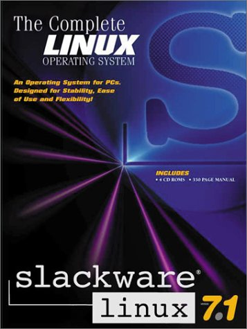 Slackware Linux 7.1 Retail Box Slackware Linux 7.1 Retail Box