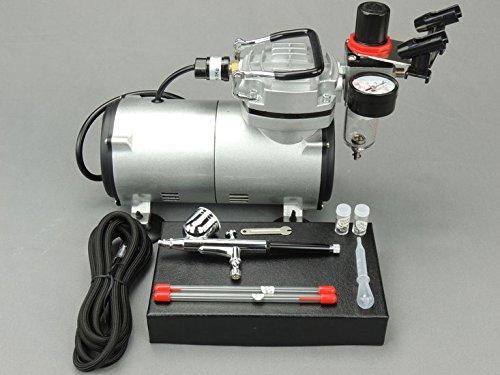 Fengda - Set compressore per aerografo con Pistola 130K