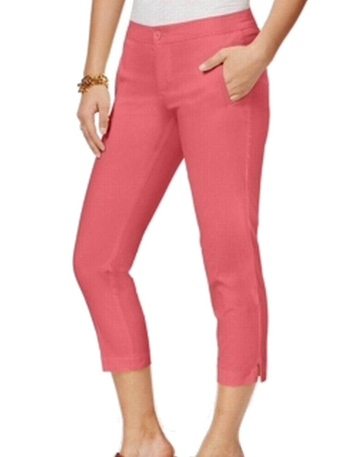Tommy Hilfiger Women's 10X25 Capris Cropped Pants Pink 10