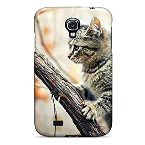 Galaxy S4 Case Cover Autumn Cat Case - Eco-friendly Packaging