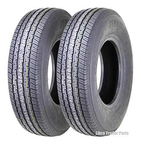 2 New Premium Grand Ride Trailer Tires ST235/85R16 Radial 12PR Load Range E - 11091