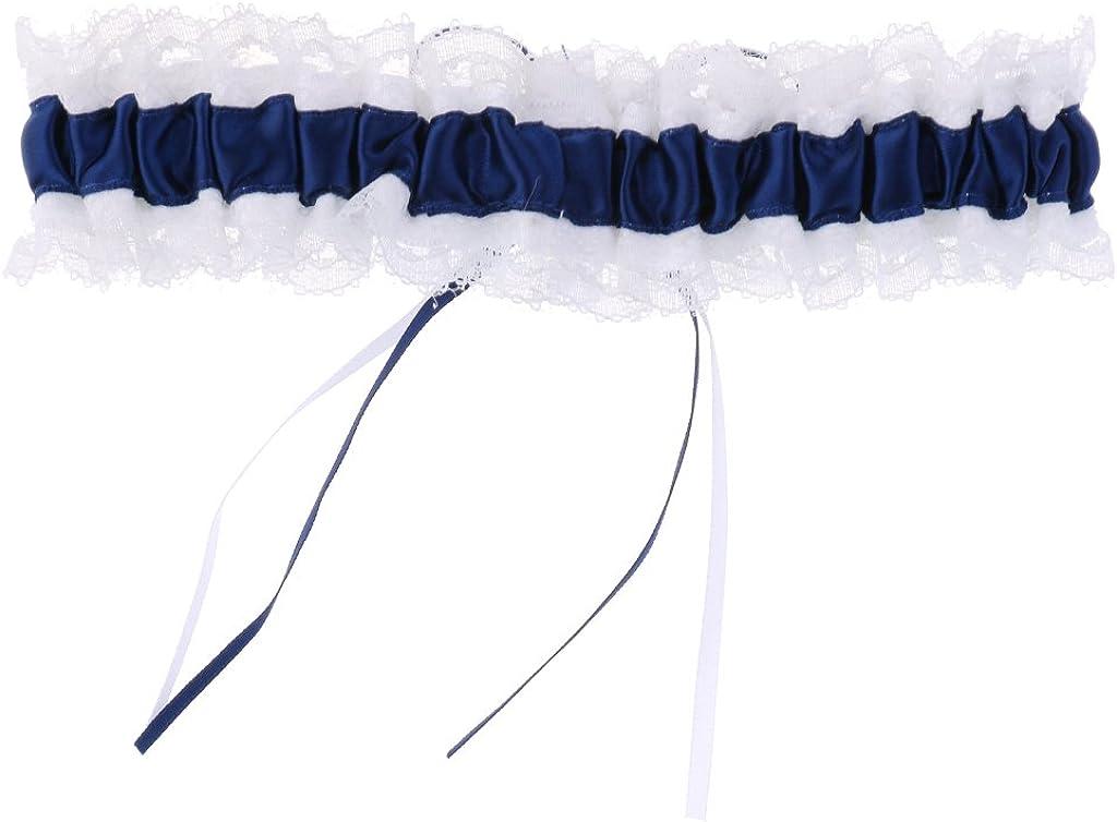 Spitze Strumpfband Kristallstein Brautstrumpfband Satin Schleife Garter