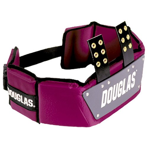 Douglas CP Series Football Rib Combo Protector without Plastic - Royal 6 inches
