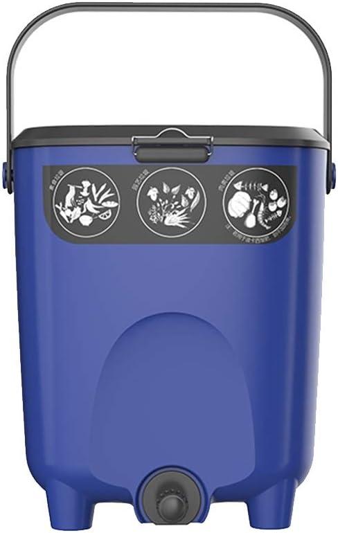 Kai Xin Mini Compost Cubo 10L, hogar de desperdicios de Comida ...