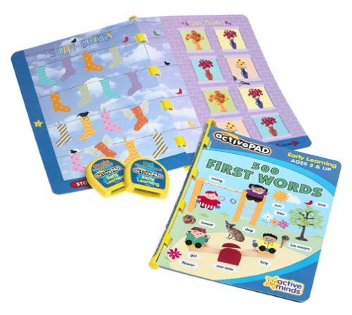 Activepad Active Pad Early Learning Double Book Pack First Words And Colors active minds 95571/95563