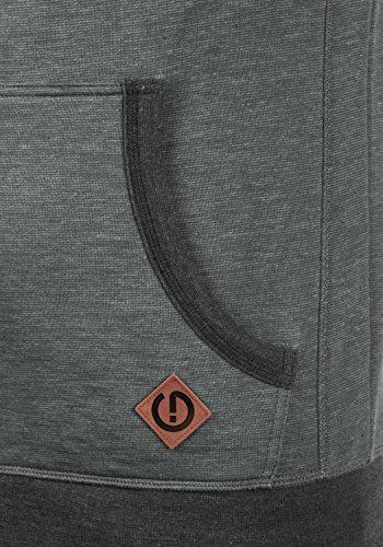 Pullover Pullover For Vitucross Solid Hoodie Melange Liner Men Hoodie Fleece 8236 Gris 5xqXtwt
