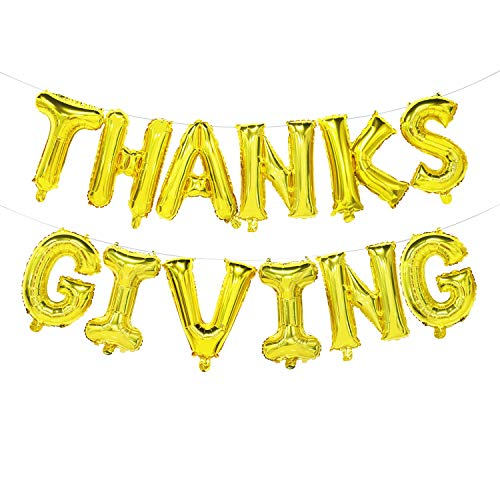 Thanksgiving Balloon Banner | Thanksgiving Party Decorations Letters