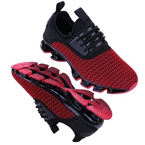 5 Sneakers de Gym Hommes rouge Running Chaussures Mode Sport O7xxB0
