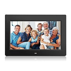 Wecool 10.1 Inch Digital Photo Frame & HD Video (720p) with Motion Sensor & 8GB USB Memory 1024x768 High Resolutio Support USB & SD/SDHC Card