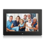 Wecool 10.1 Inch Digital Photo Frame & HD Video (720p) with Motion Sensor & 8GB USB Memory 1024x768 High Resolutio Support USB & SD/SDHC Card